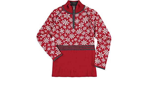 5d45af886ae Krimson Klover Womens Eva Maria 1 4 Zip Pullover Sweater at Amazon Women s  Clothing store