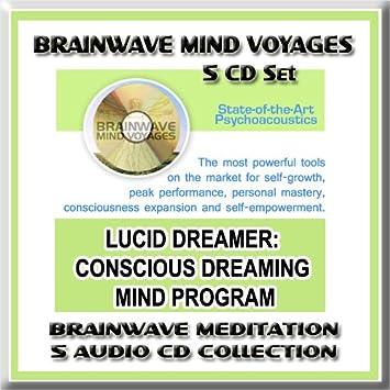 Brainwave Mind Voyages - Lucid Dreamer Brainwave Meditation 5 CD Set