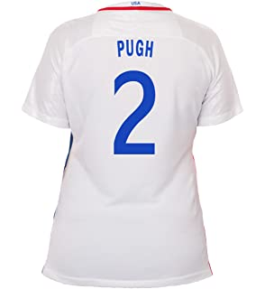best loved 746eb 2b689 Amazon.com: Nike Pugh #2 USA Home Soccer Jersey Youth.: Clothing