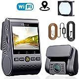VIOFO A129 duo ドライブレコーダー ドラレコ 前後カメラ デュアルレンズ GPS機能搭載 WIFI搭載 1080P Full HD SONY製センサー 2インチLCD画面 140度広角 常時/衝撃/ループ録画 駐車監視 動体検知 超強夜視機能/コンデンサ G-センサー WDR 最大256GBカード 1年保証