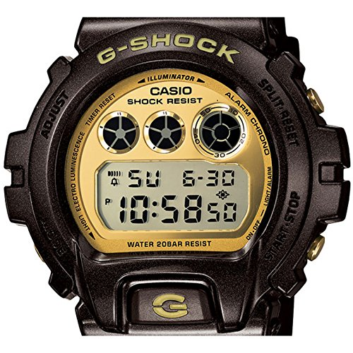 bd6d47f69c938 Casio Men s Watch XL G-Shock Style Series Chronograph Quartz Resin DW -  6900BR - 5  Amazon.co.uk  Watches