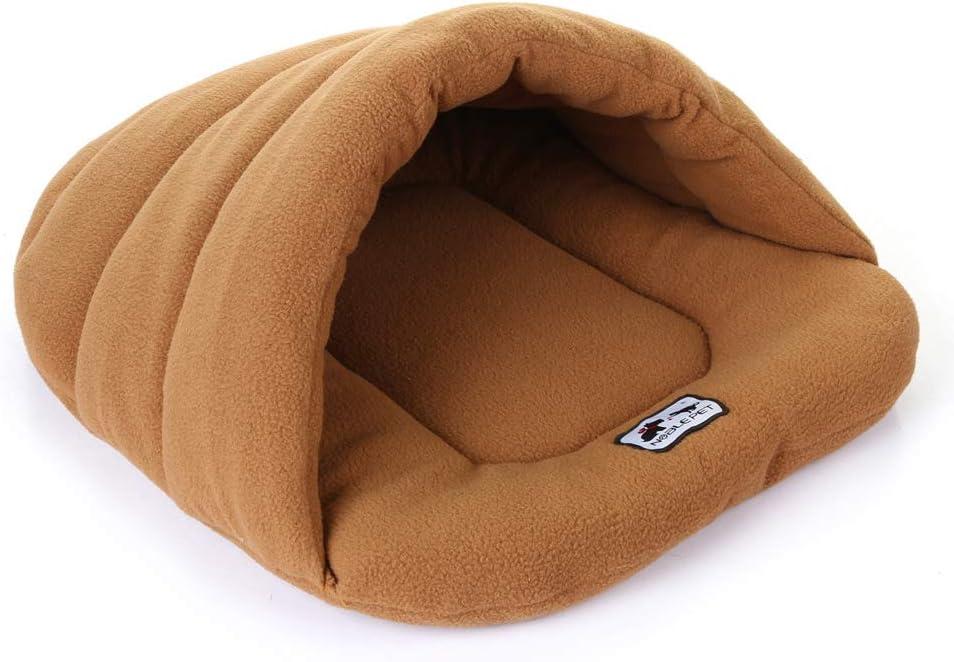Walmeck- 6 Colors Caldo Sacco a Pelo per Cane XS//S//M Morbido Accogliente Letto Cuscino per Cani