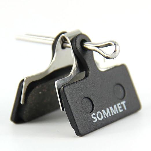 9 opinioni per SOMMET Pastiglie freno a disco semi-metallico per Shimano Deore M615 / SLX M666