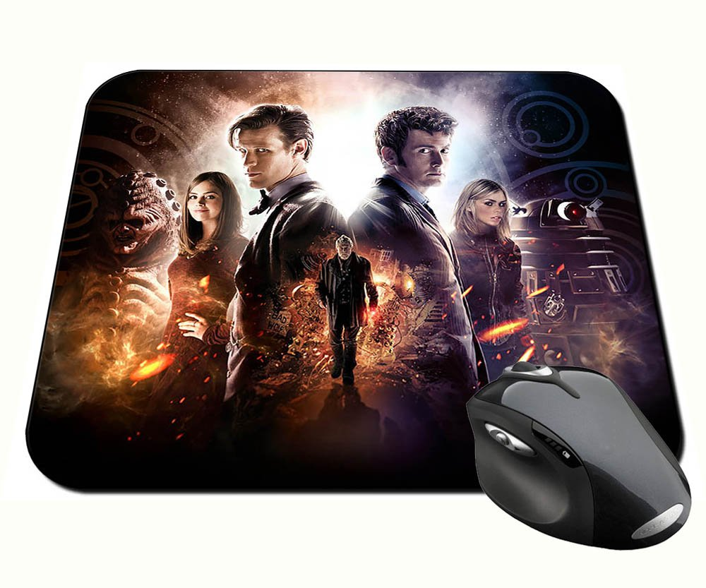 Doctor Who David Tennant Matt Smith 50 Anniversary Mauspad Mousepad PC MasTazas