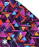 Snowflake Designs Triangles Gymnastics Grip Bag For Sale