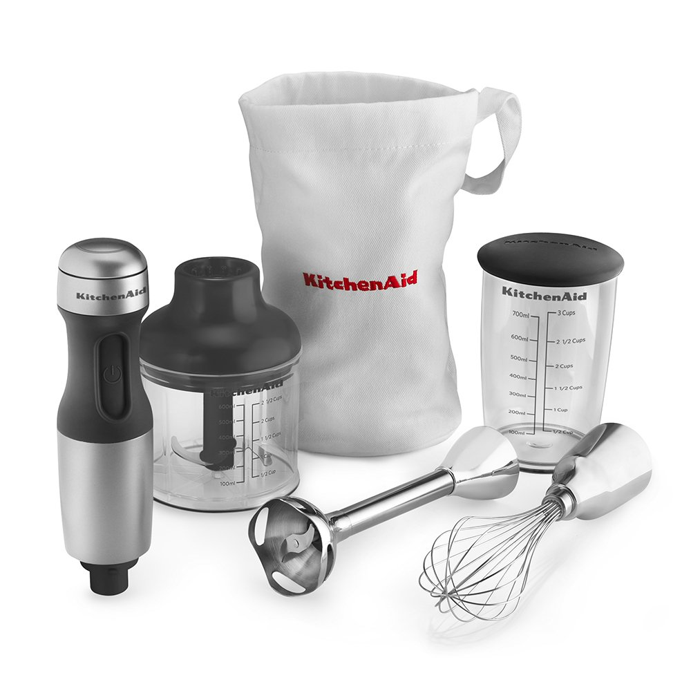 com kitchenaid khbcu speed hand blender contour com kitchenaid khb2351cu 3 speed hand blender contour silver electric hand blenders kitchen dining