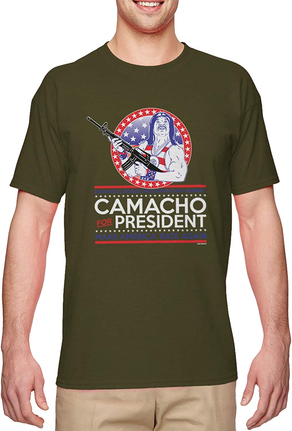 Haase Unlimited Camacho for President - Parody Funny Men's T-Shirt