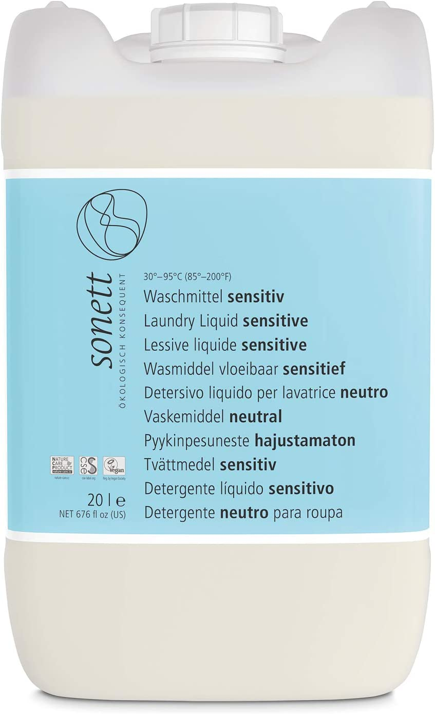 Soneto lavandería Sensitiv: pura pflanzliche tensoactivo, sin ...