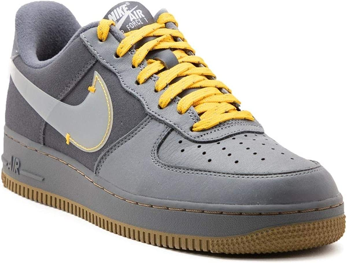 Nike Scarpe da Uomo Sneaker Air Force 1 Prm in camoscio