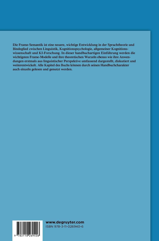 Frame-Semantik: Ein Kompendium: Amazon.de: Dietrich Busse: Bücher