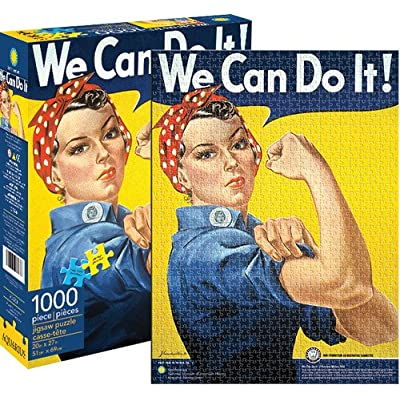 Aquarius We Can Do It Rosie The Riveter 1000 Pc Puzzle