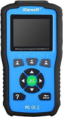 Icarsoft Bmm V1 0 Auto Diagnose Scanner Für Bmw Und Mini Mit Öl Service Reset Neue Version Von I910 Blau Auto