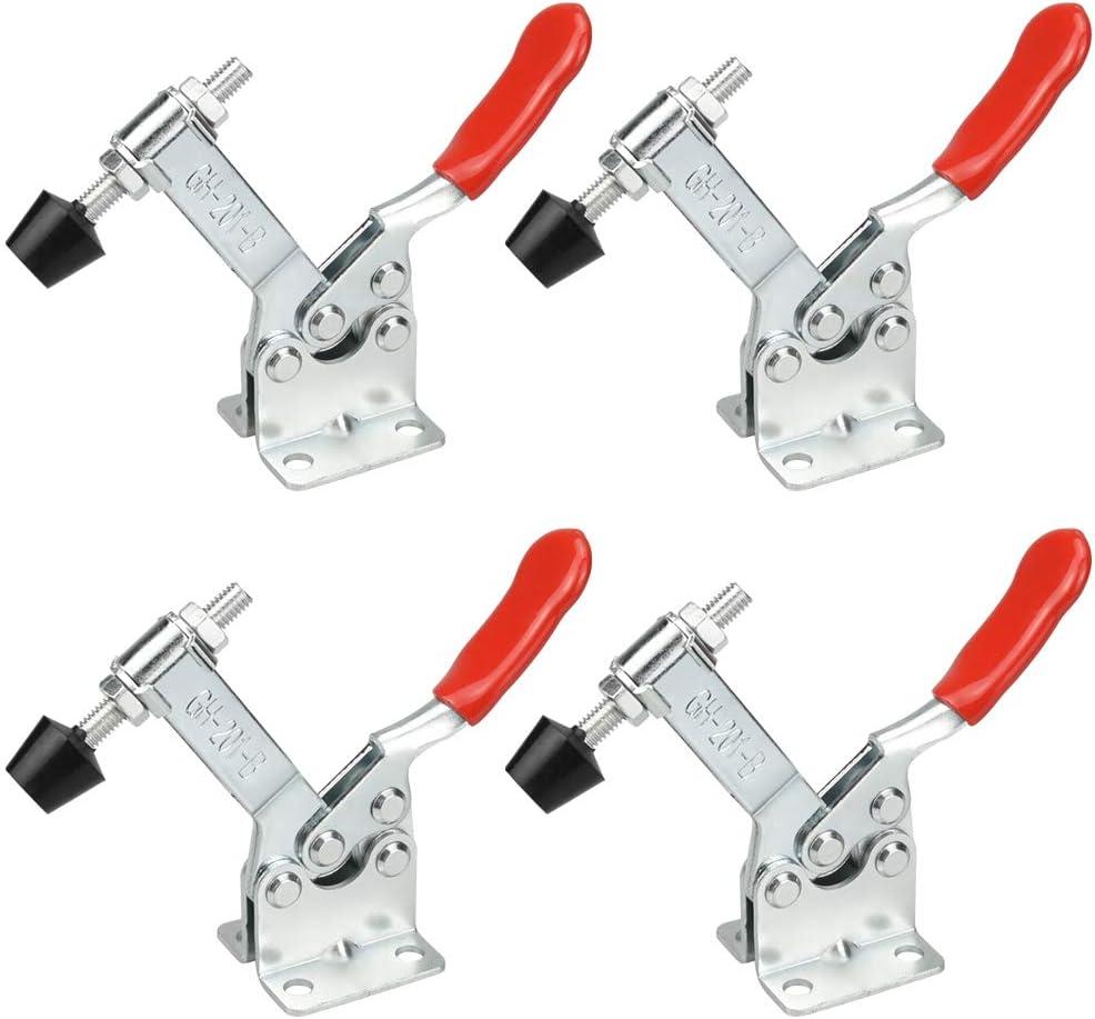 capacit/é de maintien environ 90 kg robuste RMENOOR 4pcs Pince /à Genouill/ère outil /à main antid/érapant dispositif de serrage /à genouill/ère desserrage rapide
