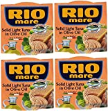 Rio Mare Solid Light Tuna in Olive Oil (Pack of 4, 5.7-oz cans)