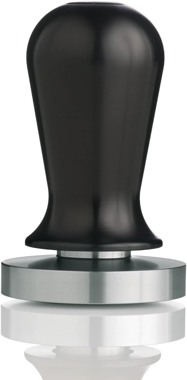 Espro Calibrated Stainless Steel Flat Espresso Coffee Tamper, Black, 57 Mm