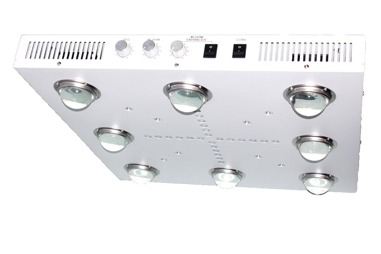 3500k Cobs UV//IR Optic 8 COB LED Grow Light 500W