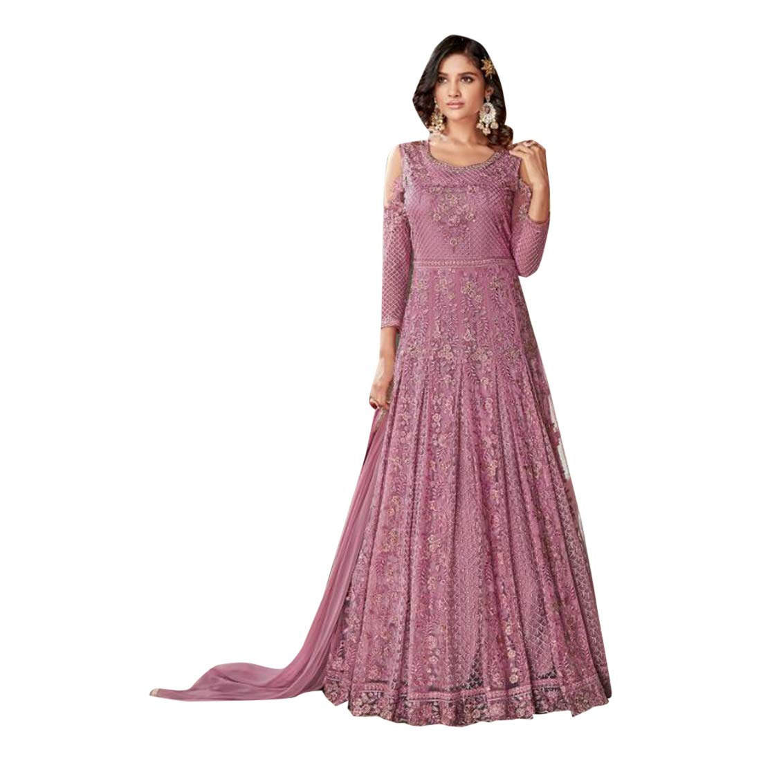 faaa421d08 SHRI BALAJI SILK & COTTON SAREE EMPORIUM Pakistani Wedding Collection  Designer Heavy Net Women Salwar Kameez Indian Muslim Ethnic Long Dress  7388: ...