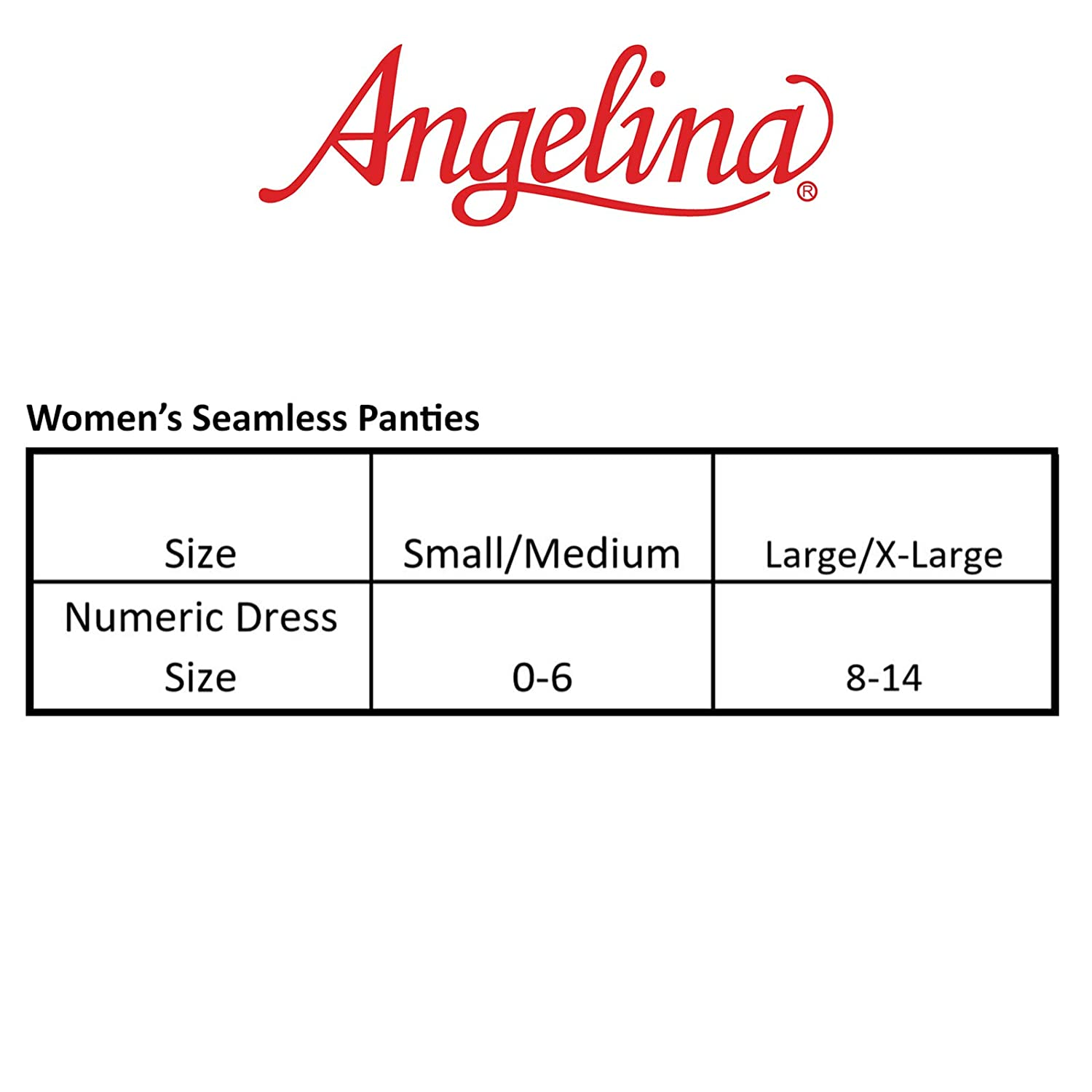 866ce8af39fb Angelina Seamless Boyshort Panties with Side Cutout Detail (6-Pack),  SE895_S-M at Amazon Women's Clothing store: