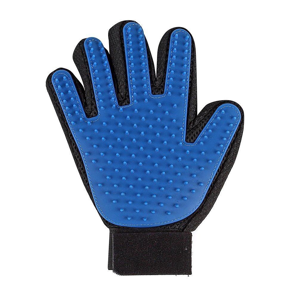 Hommii Right Hand Magic Glove Toiletteur pour Animaux de Compagnie, Bleu