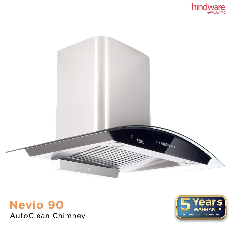 Hindware Nevio 90 AutoClean Chimney