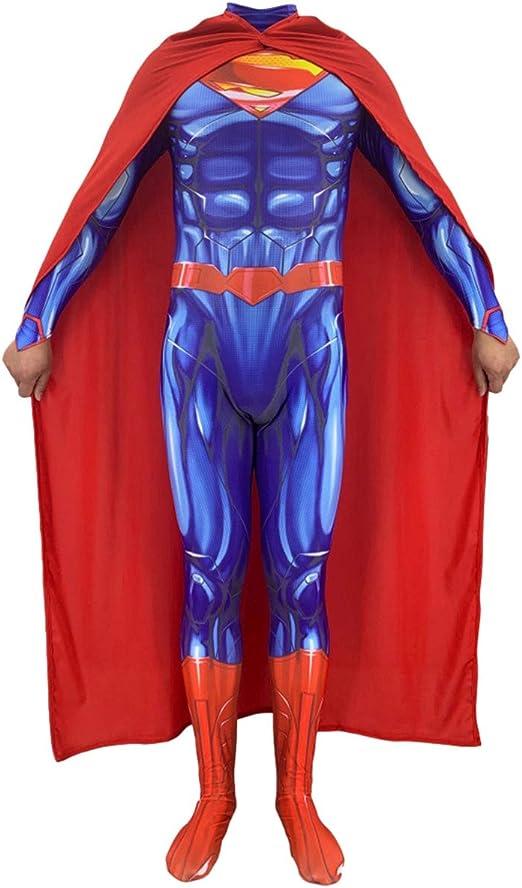 QQWE Liga de la Justicia Superman El Hombre de Acero Cosplay ...