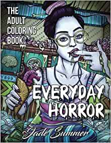 Amazon.com: Everyday Horror: An Adult Coloring Book with ...