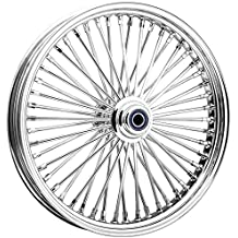 Ride Wright Wheels Inc Omega Chrome 50 Spoke 16x3.5 Rear Wheel, Color: Chrome, Position: Rear, Rim Size: 16 04635-65-99-OM-T