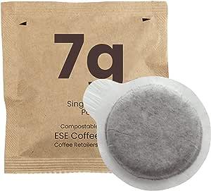 CAFE ORO 7g - 50 Single Shot ESE Espresso Coffee Pods