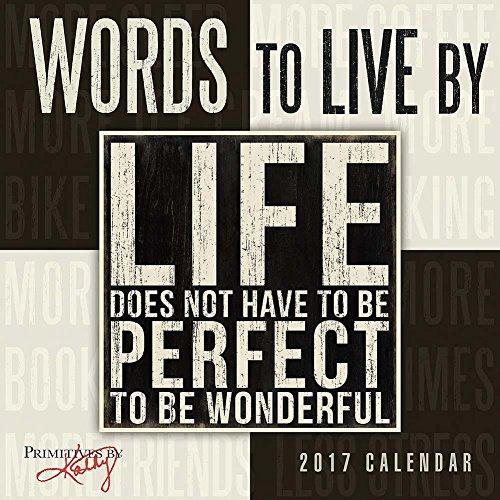 Words Primitives Kathy 2017 Calendar product image