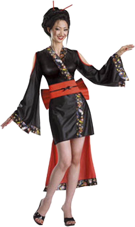 Cesar - Disfraz de geisha japonesa para mujer (adulto), talla 12 ...