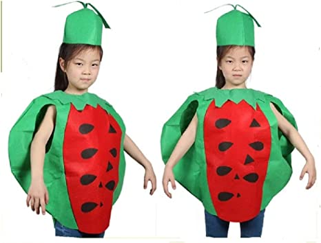 Child 10-12 Years Banana Fancy Dress Costume Funny Fruit Kids Boys Girls Unisex
