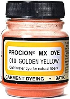 product image for Dbest Jacquard Procion Mx Dye, 2/3-Ounce, Golden Yellow (PMX-1010)
