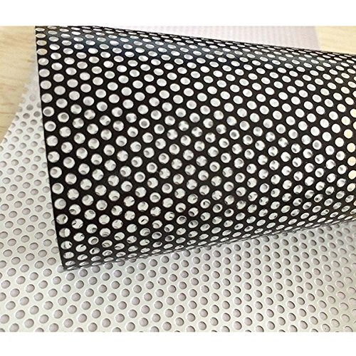 HOHO 1.37mx30m White One Way Perspective Vinyl Privacy Window Film Self Adhesive Glass Wrap Postage Sticker by HOHO