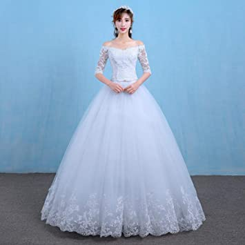 Vestido Vestido de Novia una Falda Vestido de Novia Novia en ...