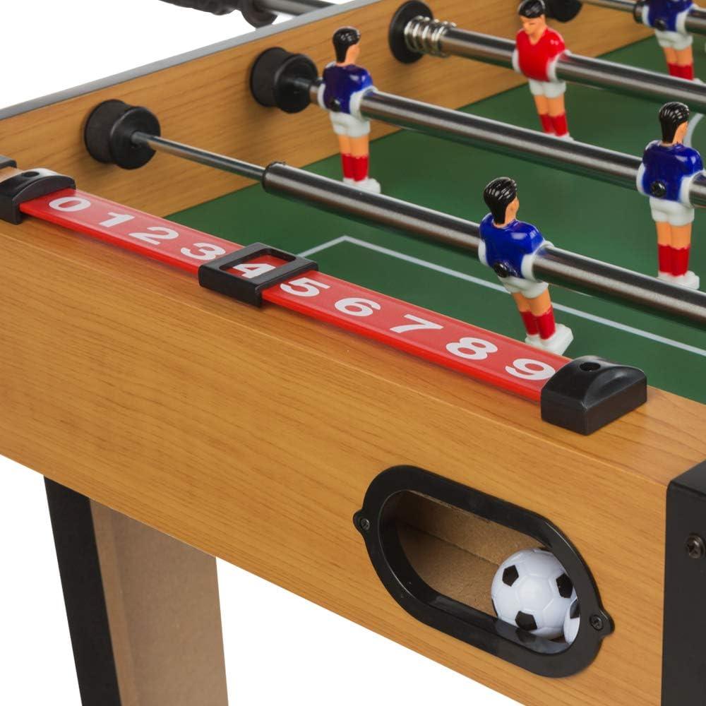 ColorBaby - Futbolín de madera CBgames (85333): Amazon.es: Juguetes y juegos