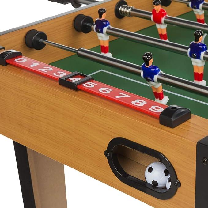 ColorBaby - Futbolín de madera CBgames (85333): Amazon.es ...