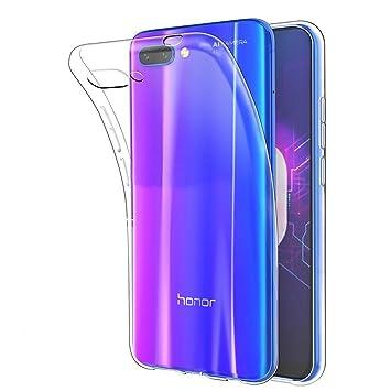 Fmway Funda Honor 10, TPU Silicona Case Cover Carcasa Protector para Huawei Honor 10 (transparente)