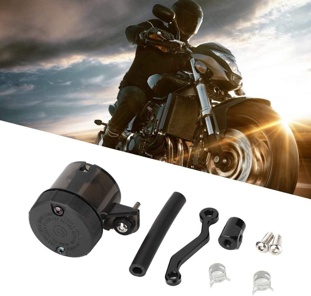 Dep/ósito de l/íquido de frenos de la motocicleta universal Tanque de embrague Vaso de aceite Gorgeri Dep/ósito de l/íquido de frenos de la motocicleta