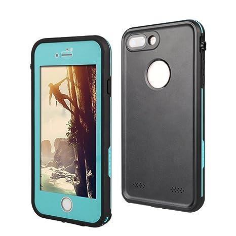 c6d8baa77ff Funda Resistente al Agua para Apple iPhone 8 Plus (5,5), a Prueba de ...