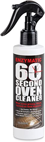 Enzymatic 60 Second Oven Cleaner Spray, 8 oz. - Simply Wipe