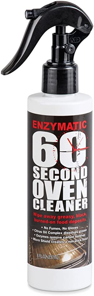 Enzymatic 60 Second Oven Cleaner Spray, 8 oz. - Simply Wipe Your Oven Clean