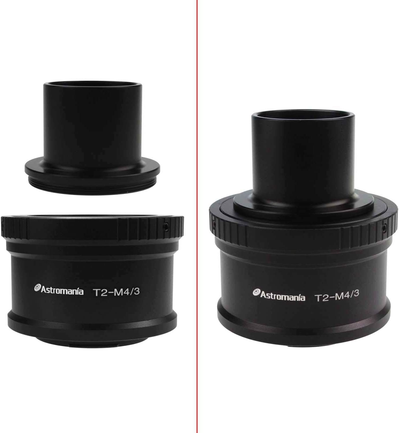Astromania T//T2 Lens Mount Adapter Ring for Sony-NEX Camera Precision machined T2 Adaptor Ring for All Sony NEX Compact System Cameras