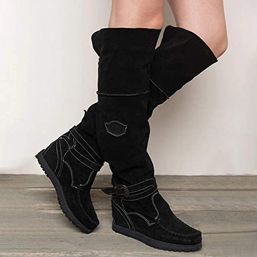 Winter boots Keilabsatz Damen Stiefel Schuhe Wedge Schneestiefel Outdoor