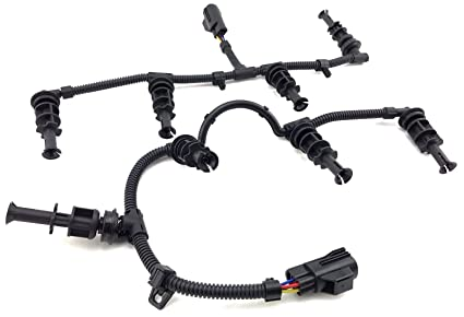 amazon com 08 10 6 4l ford f250 f350 f450 powerstroke diesel glowimage unavailable image not available for color 08 10 6 4l ford f250 f350 f450 powerstroke diesel glow plugs harness repair kit