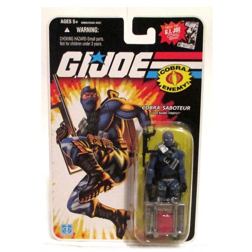 G.I. Joe Cobra Saboteur Code Name: Firefly - Comic Series Collection - Actionfigure 2008 von Hasbro