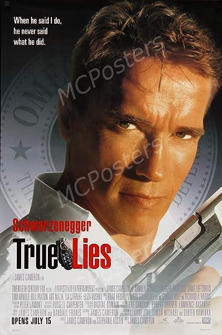 Amazon com: PremiumPrints - True Lies Arnold Schwarzenegger Movie