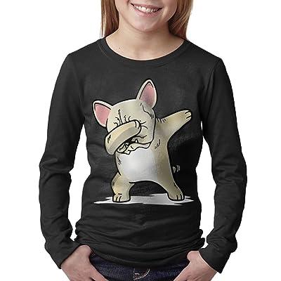 08&FD0 Funny Dabbing Cream French Bulldog Dog Unisex-Child Round Neck Tshirt