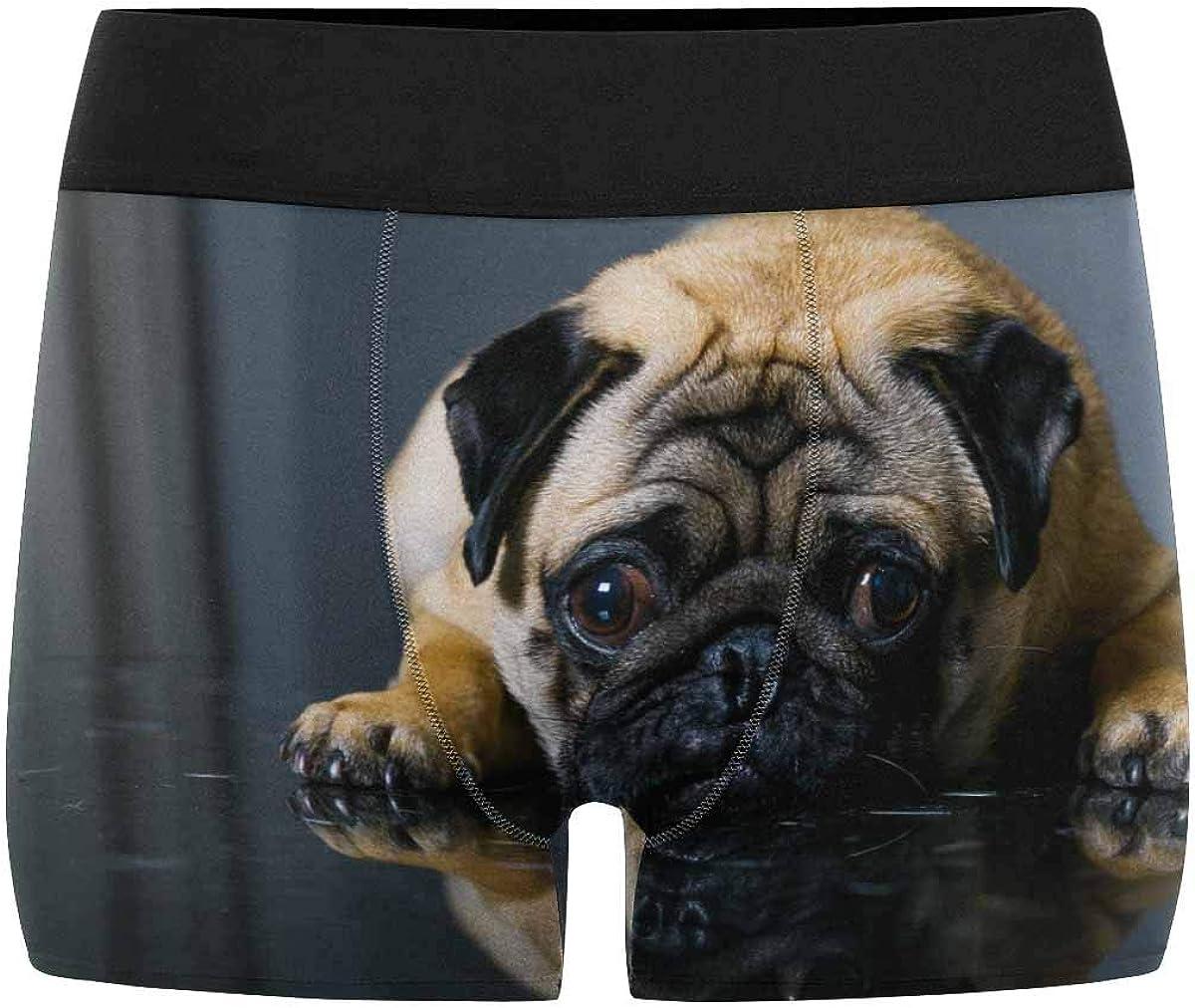 XS-3XL INTERESTPRINT Custom Mens Boxer Briefs Sad Dog