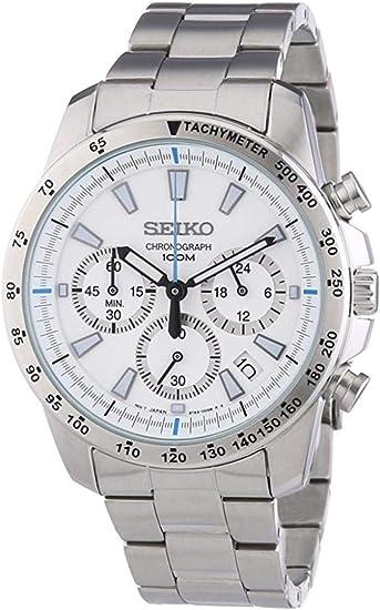 [セイコー]SEIKO腕時計クロノグラフ逆輸入海外モデルSSB025P1メンズ【逆輸入品】
