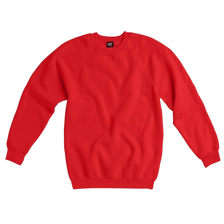 SG Ladies//Womens Raglan Sleeve Crew Neck Sweatshirt
